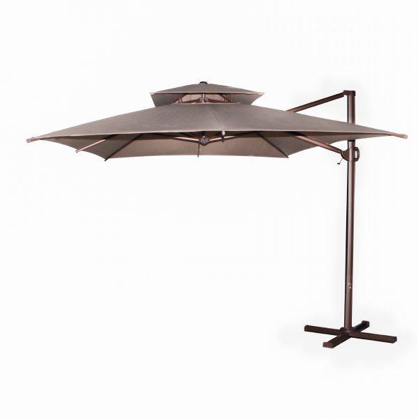 Зонт уличный Frido (3х4м),  Бежевый