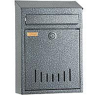 Односекционный почтовый ящик «ЭЛИТ» (антик серебро-серый)
