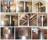 Дымоход 0.5 м (430/0,8 мм) Ф 150. Ferrum., фото 6