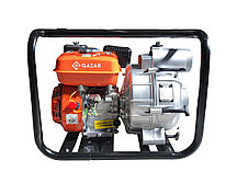 Мотопомпа бензиновая для грязной воды QAZAR GDP80