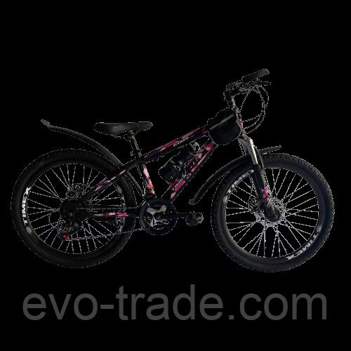 Велосипед Timex розовый 24 см