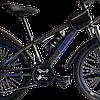 Велосипед Timex синий 24 см, фото 3