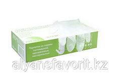 Перчатки виниловые белые неопудренные, .размер L и М. ТМ  Linger