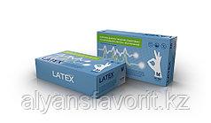 Перчатки латексные белые неопудренные ТМ МЕДИОК. Размер: S,M.L