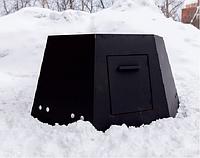 Ветрозащита из нержавеющей стали 430/2мм /  для чана 2250 мм