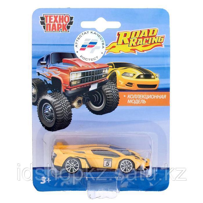Машина металлическая «Модель гонки», 7,5 см, МИКС - фото 4