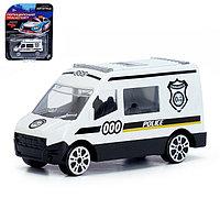 Машина металлическая «Полицейский транспорт», МИКС