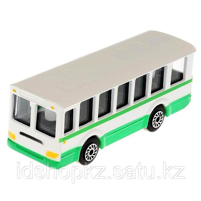 Набор металлических машин «Городской транспорт» из 3-х моделей, 8 см - фото 2