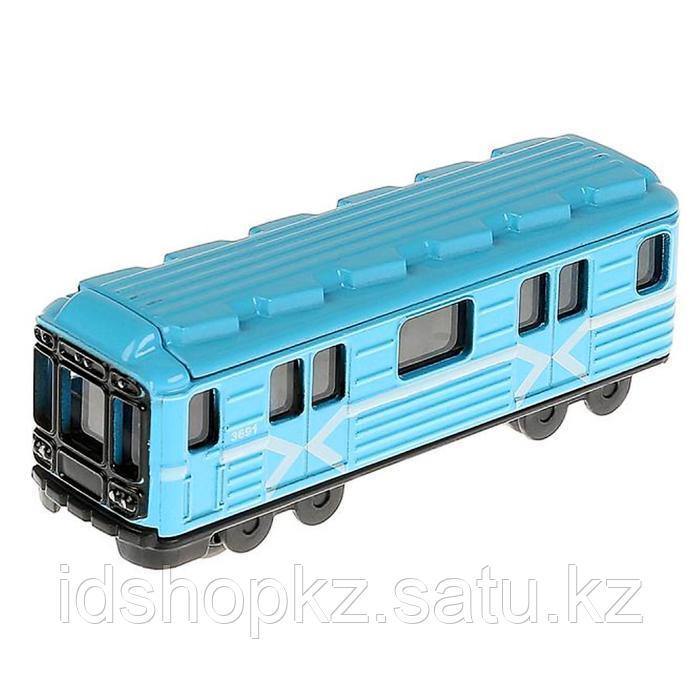 Набор металлических машин «Городской транспорт» из 3-х моделей, 8 см - фото 3