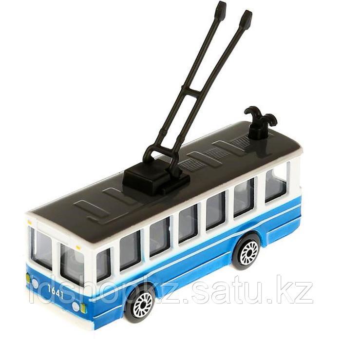 Набор металлических машин «Городской транспорт» из 3-х моделей, 8 см - фото 4