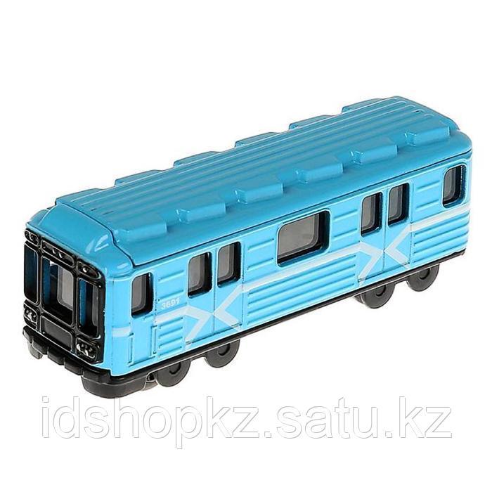 Набор металлических машин «Городской транспорт» из 3-х моделей, 8 см - фото 5