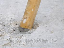 Стальные площадки для установки бревен на грунт, 3 шт.