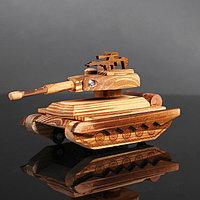 Игрушка деревянная «Танк» 20×10×10 см