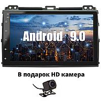 ШГУ Андроид на Prado 120+HD камера