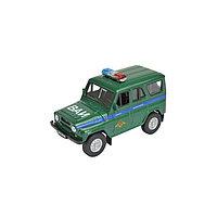 Коллекционная модель машины LADA 2108 УАЗ 31514 «Военная инспекция», масштаб 1:34-39