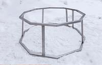 Подставка под чан, черный металл /  для чана 2250 мм