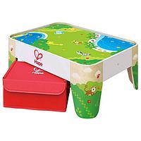 Игровой стол для железной дороги, с коробкой для хранения