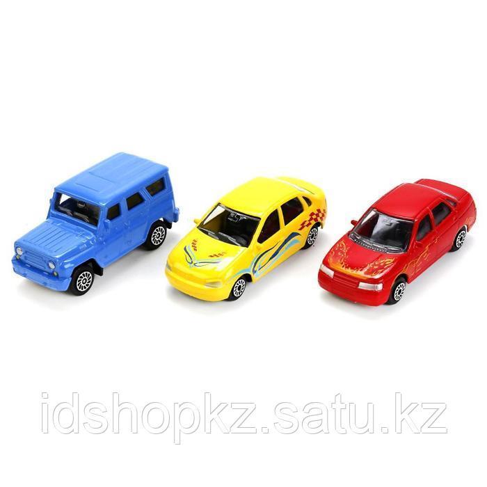 Машина металлическая из коллекции «Русские модели машин» в банке, 7,5 см, МИКС - фото 2