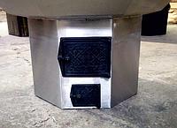 Дверца для печи из закаленного стекла