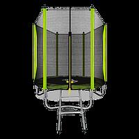 Батут Arland 6ft с внешней сеткой и лестницей