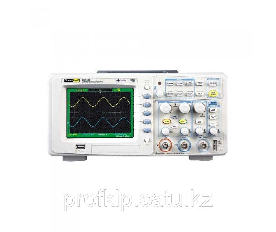 ПрофКиП С8-1043 осциллограф цифровой (2 канала, 0 МГц … 40 МГц)