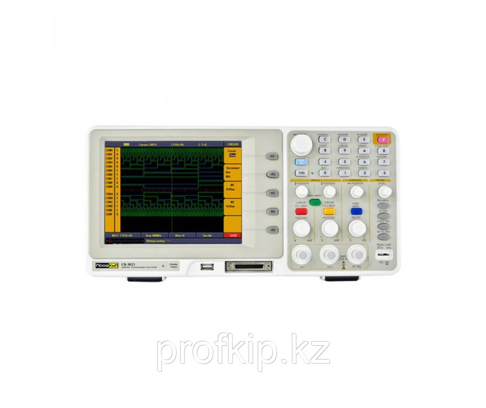 ПрофКиП С8-3021 осциллограф смешанных сигналов (2 канала, 0 МГц … 25 МГц)