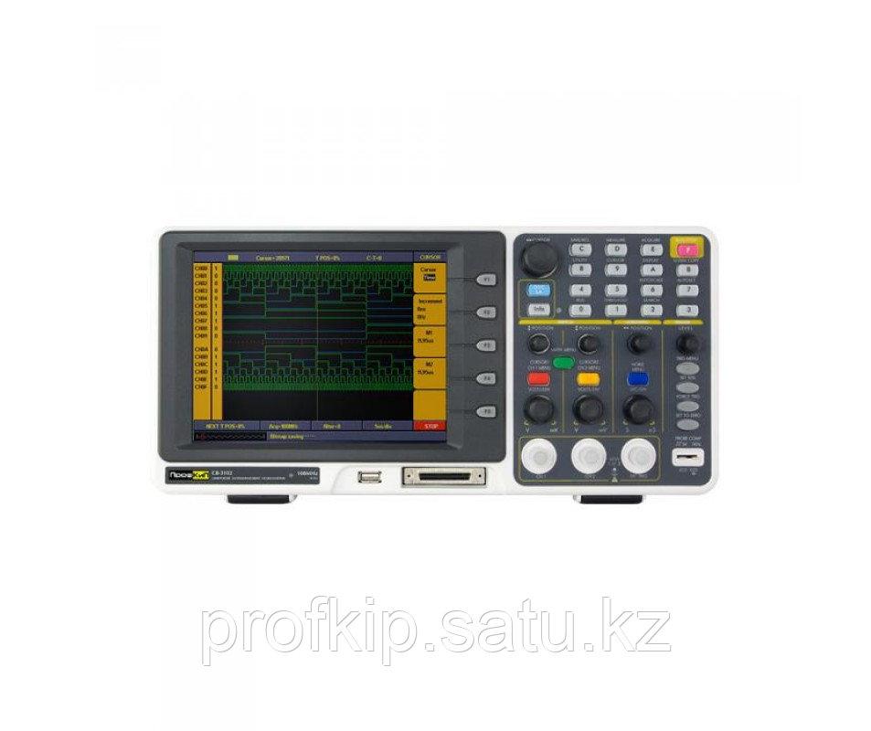 ПрофКиП С8-3102 осциллограф смешанных сигналов (2 канала, 0 МГц … 100 МГц)