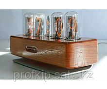 ПрофКиП Ламповые Часы — Абсолютная Точность  (Американский Орех)
