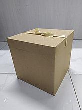 Подарочная крафтовая коробка  30*30*30см
