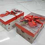 Подарочный бокс прямоугольный, фото 3