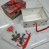 Подарочный бокс прямоугольный, фото 2