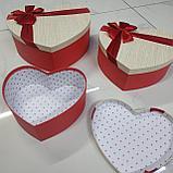 Подарочный бокс в форме сердца, фото 2
