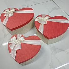 Подарочный бокс в форме сердца