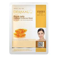 Dermal Collagen Essence Mask Royal Jelly Маска коллагеновая с пчелиным маточным молочком 1 шт 23 гр 002