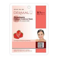 Dermal Collagen Essence Mask Strawberry Маска коллагеновая с экстрактом клубники 1 шт 23 гр 024