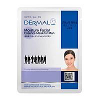Dermal Moisture Facial Essence Mask for Men Маска коллагеновая увлажняющая для мужчин 1 шт 23 гр 021