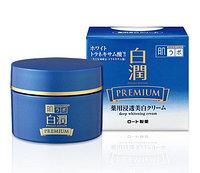 Hada Labo Shirojyun Premium Отбеливающий питательный увлажняющий крем для лица 100 гр