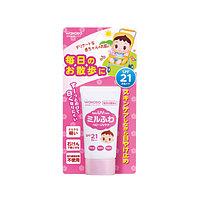 Wakodo Milufuwa Baby UV Care Детский солнцезащитный крем SPF 21 PA++ 30 гр