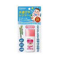 Wakodo Milufuwa Baby UV Care Детский солнцезащитный крем-молочко SPF 35 PA++ 30 мл