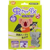 Wakodo Подвесной брелок от комаров для помещений и детских колясок 1 шт 90 гр
