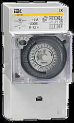 Таймер ТЭМ181 аналоговый 16А 230В на DIN-рейку