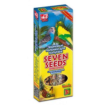 Seven Seeds Зерновые палочки для попугаев с фруктами