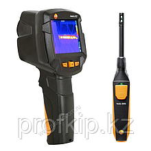 Комплект тепловизора Testo 872 и смарт-зонда термогигрометра Testo 605i