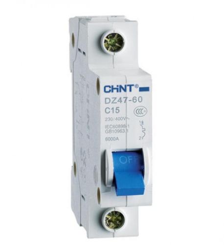 Автоматический выключатель DZ47-60 1Р 16А 4.5кА х-ка C (CHINT)