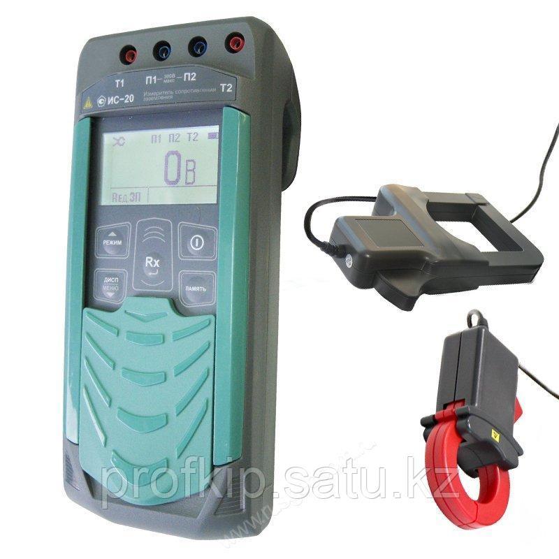 Измеритель сопротивления Радио-Сервис ИС-20/1 с клещами 40+80 мм с поверкой