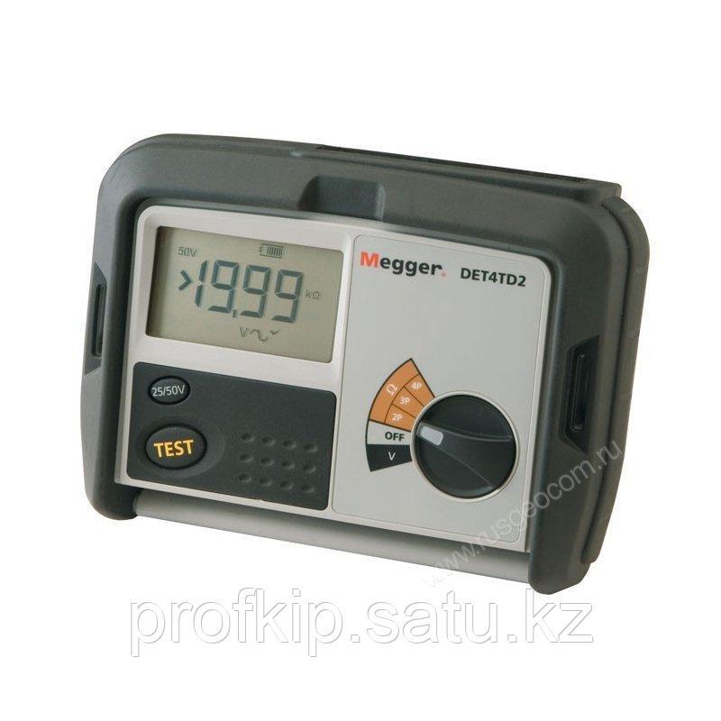 Измеритель сопротивления заземления Megger DET4TD2