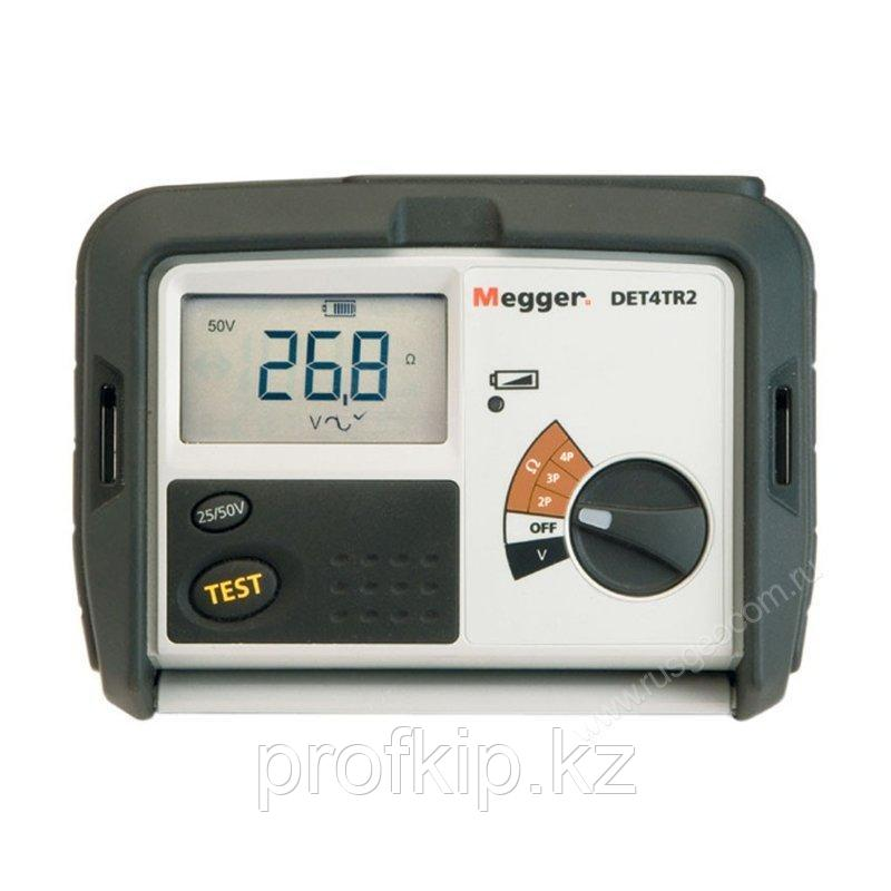 Измеритель сопротивления заземления Megger DET4TR2