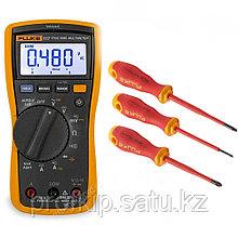 Комплект Fluke IB117L - мультиметр Fluke 117 с набором отвёрток