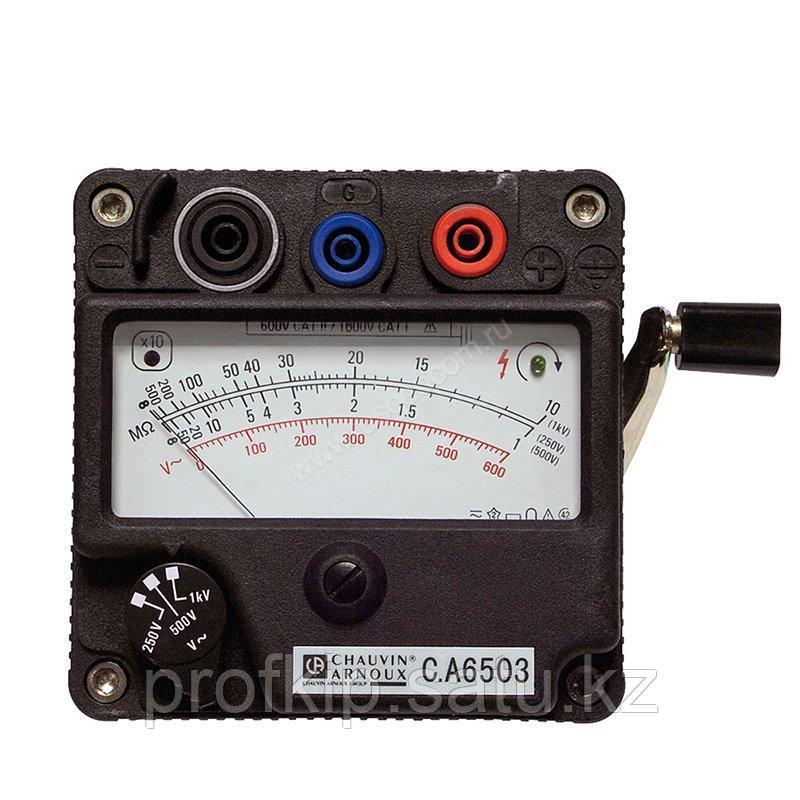 Измеритель сопротивления изоляции Chauvin Arnoux C.A 6503