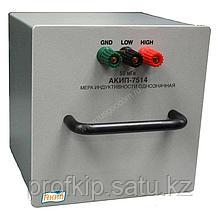 Мера индуктивности АКИП-7514-1мкГн